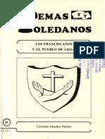 Files_temastoledanos_81. Los Franciscanos y El Pueblo de Lillo, Por Cayetano Sanchez Fuertes