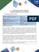 Syllabus Del Curso Sistemas de Gestión Ambiental