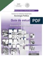 Guia de Estudio Ingreso Sociología Política