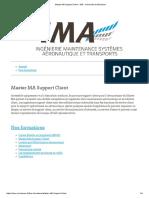 Master MA Support Client - IMA - Université de Bordeaux