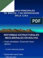 Reformas Principales