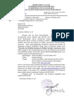 Surat Undangan IAIN Purwokerto Jateng