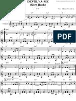 Devolva Me v 4 Instrumental