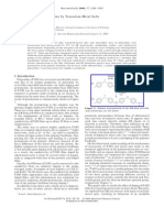 Doping of Polyaniline by Transition-Metal Salts