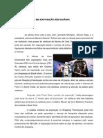 Nota cultural - Museu de Cera em Goiânia