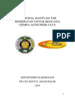 3. PROPOSAL BAKTI SOSIAL Tim Kesehatan Bencana Gempa Aceh Pidie Jaya - Copy