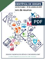 Livro de Resumos VII Feira Científica de Sergipe 2017 (Pgs. 276 e 290)