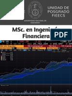 MSc Ingeniería Financiera UNI