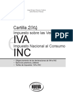 Cartilla IVA-InC 2014