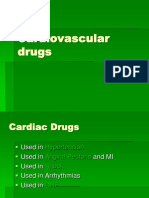 Pharmacology Cardiovascular Drugs