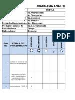 3.1 Formato Diagrama de Proceso