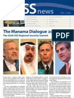 IISS 2009 the Manama Dialogue