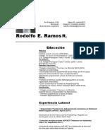 Cv Rodolfo -Einstein