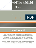 Farmakokinetika Absorbsi Oral