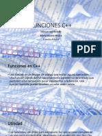 FUNCIONES C++