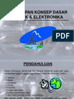 Penerapan Konsep Dasar Listrik Elektronika