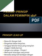 PRINSIP-PRINSIP DALAM PEMIMPIN 360⁰