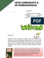 Linguistik Komparatif & dasarperbandingan