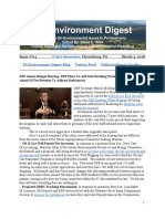 Pa Environment Digest March 5, 2018