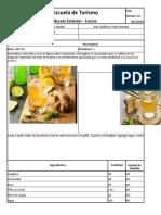 Formato Receta Estándar (Bebida)