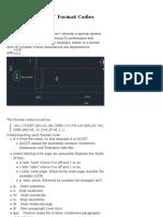 AutoCAD Mtext Codes