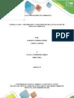 Fase1_ Descripción y Antecedentes de La Evaluación de Impacto Ambiental