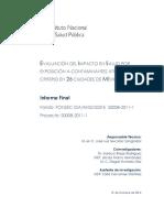 Evaluacion del impacto en salud por exposicion a contaminantes atmosfericos criterio en 26 ciudades de mexico (INSP, 2014).pdf