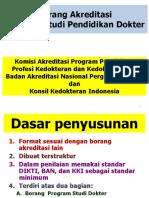 Borang Akreditasi Baru PSPD