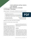 Determinación del coeficiente de flujo máximo para el diseño de sistemas de alcantarillados sanitarios, evaluado en Managua, Nicaragua.pdf
