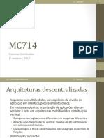 Sistemas Distribuidos - Aula 12