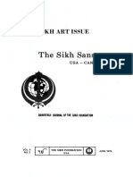 The Sikh Sansar USA-Canada Vol. 4 No. 2 June 1975 (Sikh Art Issue)