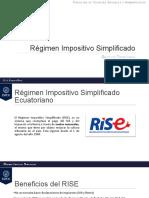 Régimen Impositivo Simplificado