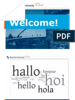Welcome Word, MPP Cohort September 2010