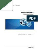 STMIKMura Manual PortalAkademik Mahasiswa