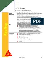 G410-15EL PDS Sika Sarnafil