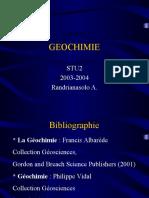 Geochimie1
