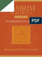 Lamrim Teachings 3 Intermedia Thubten Chodron