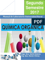 Manual Química Orgánica 2017