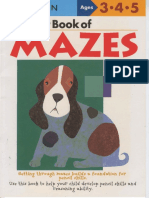 11 Ages 3 4 5 My First Book of Mazes