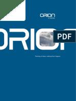 Catalogo Orion CHILE