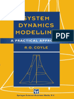 R.G. Coyle - System Dynamics Modelling
