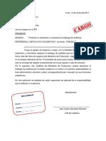 7 Carta u Oficio de Aclaracion