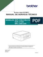DCP-J100 Series Service Manual - SPANISH
