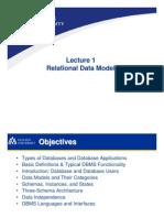 01 Relational Data Model