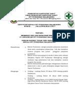 2.4.1.c Sk Pemenuhan Hak Dan Kewajiban Sasaran Program Dan Pengguna Pelayanan Pkm