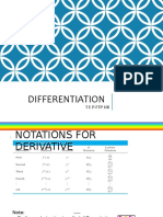 Meet 67 Differentiation