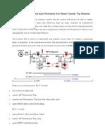 Principle of Weak InFeed Echo Permissive Over Reach Transfer Trip Schemes