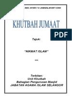 02.03.2018 (Rumi) Nikmat Islam