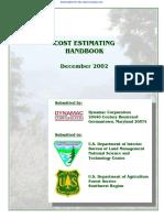 Blm Cost Estimating Hdbk Dec2002