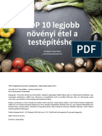 Varga Balazs Top 10 Legjobb Novenyi Etel Testepiteshez